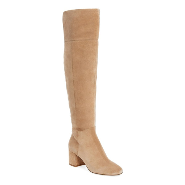 SARTO BY FRANCO SARTO korrine over the knee boot - A just-right wrapped heel lifts an over-the-knee boot...
