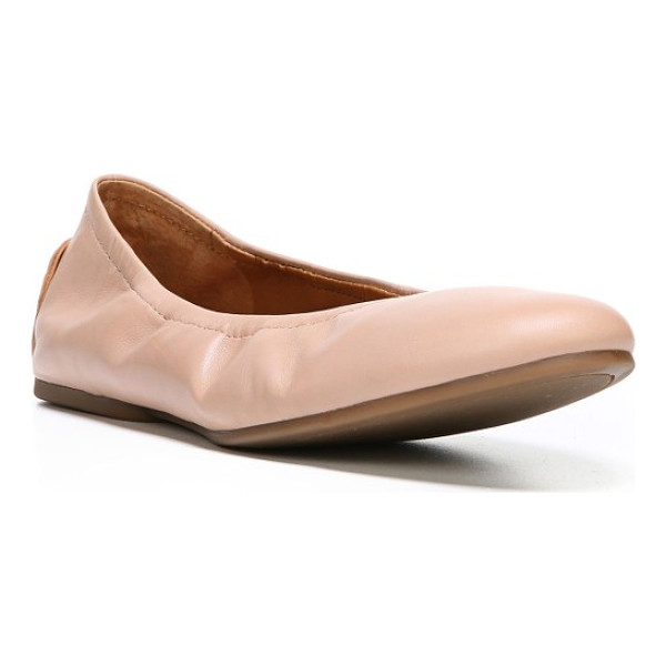SARTO BY FRANCO SARTO lindy skimmer flat - A chic, flexible little skimmer flat is as pretty as it is...