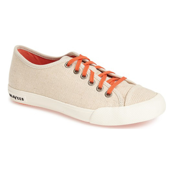 SEAVEES 08/61 army issue hemp sneaker - Inspired by the styles of California in the 1960s, each...