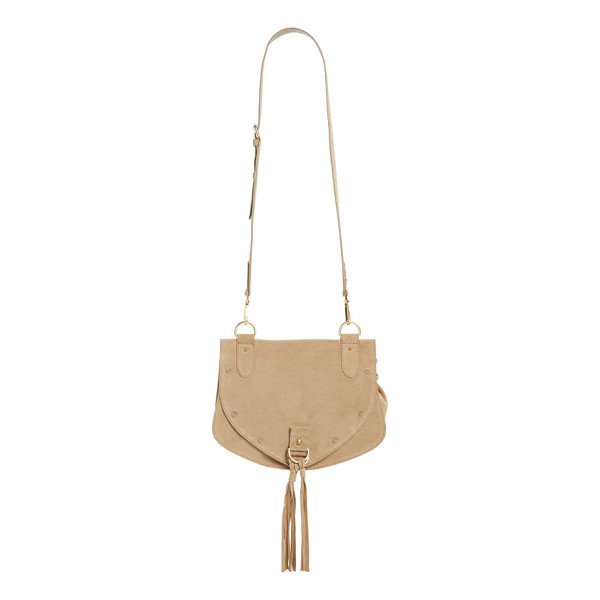 SEE BY CHLOE Medium collins suede crossbody bag - Round studs and tassel embellishments add a hint of Western...