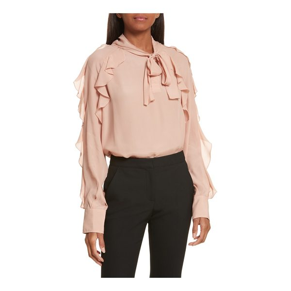 SEE BY CHLOE ruffle blouse - Delicate ruffles cascade from the shoulders of a romantic...