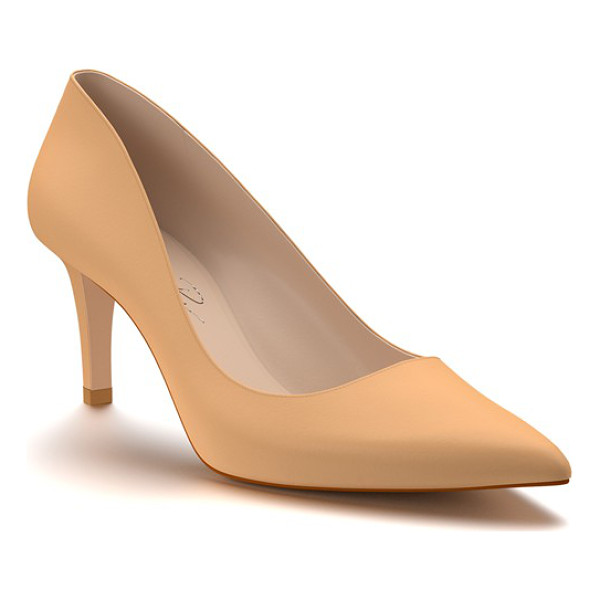 SHOES OF PREY pointy toe pump - A sleek stiletto heel adds just-right height to a svelte...