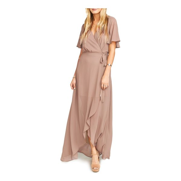 SHOW ME YOUR MUMU sophia wrap dress - Floaty wrap styling highlights the ethereal nature of a...