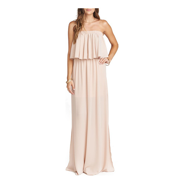 SHOW ME YOUR MUMU hacienda convertible gown - Perfect for summer weddings and soirees, this flirty,...