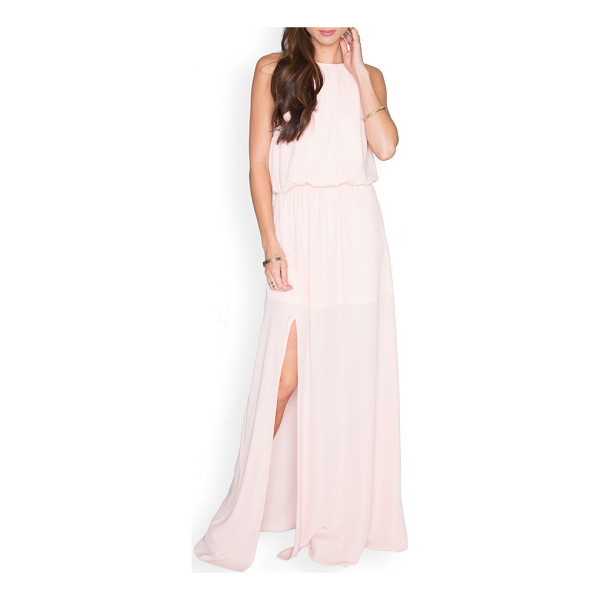 SHOW ME YOUR MUMU heather chiffon halter gown - For summer weddings-or any special occasion calling for...