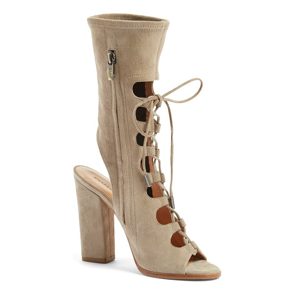 SIGERSON MORRISON linda lace-up sandal - Ghillie laces provide a vintage-chic update for a playful...