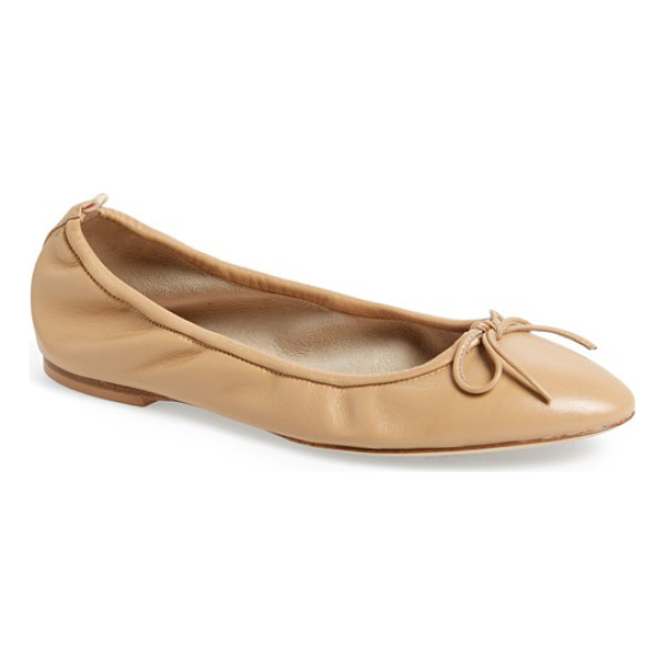 SJP BY SARAH JESSICA PARKER by sarah jessica parker gelsey nappa leather skimmer flat - The flat I have always wanted and waited for. I'm...