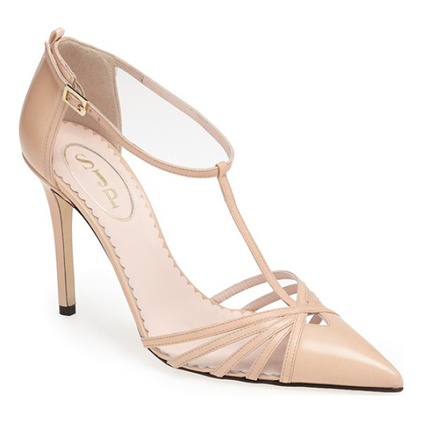 SJP BY SARAH JESSICA PARKER carrie t-strap pump - Carrie is obviously one of my favorite people, and this is...