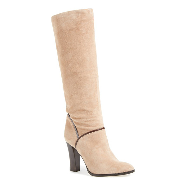 SJP BY SARAH JESSICA PARKER jacklyn boot - Smooth contrast trim accentuates the streamlined profile of...