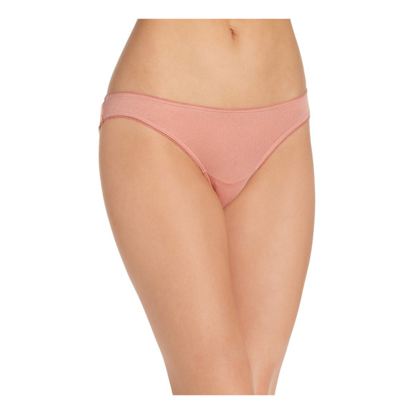 SKIN organic cotton bikini - Supersoft and breathable cotton panties are perfect for...
