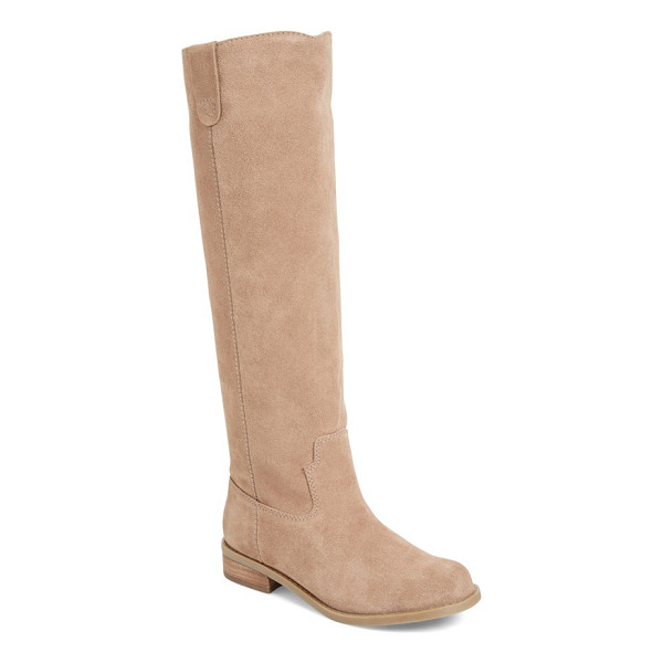 SOLE SOCIETY hawn knee high boot - Inspired by classic Western styles, this knee-high boot...