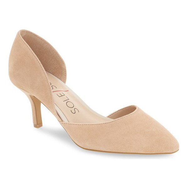 SOLE SOCIETY 'jenn' pointy toe pump - Make the most of your wardrobe with this oh-so-versatile,