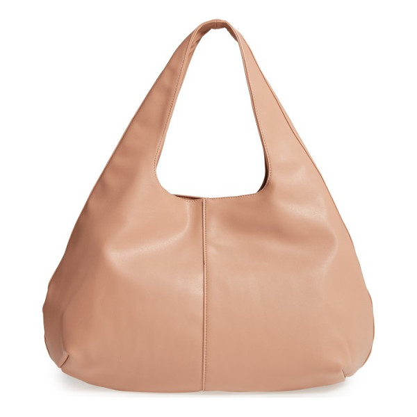 SOLE SOCIETY rouge faux leather hobo - For a totally on-trend look that won't break the bank, this...