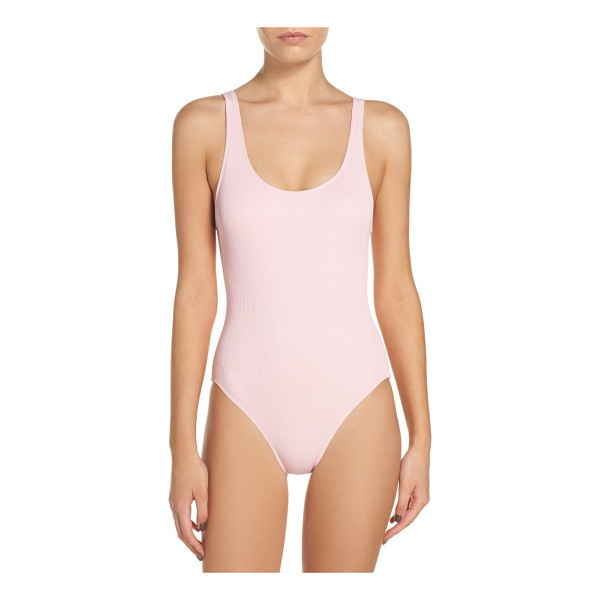SOLID & STRIPED anne marie one-piece swimsuit - High-cut legs and a low-cut back give allure to the classic...