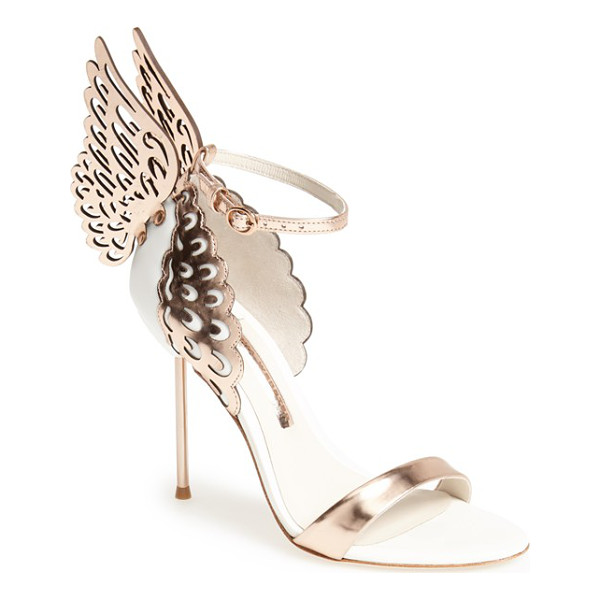 SOPHIA WEBSTER evangeline sandal - Laser-cut butterfly wings quite literally stand out on a...