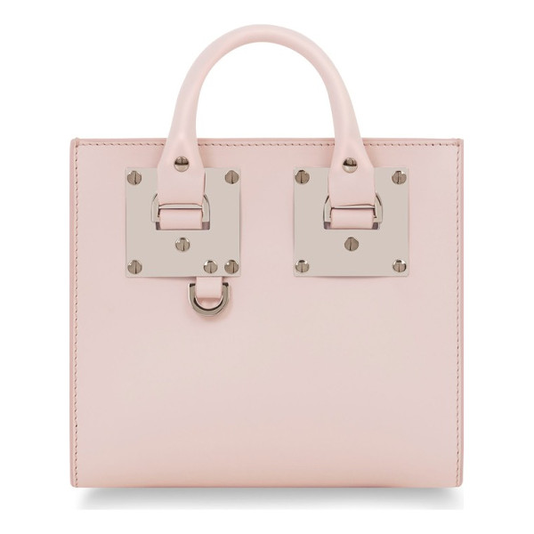SOPHIE HULME albion leather box tote - British designer Sophie Hulme's classic sensibility is...