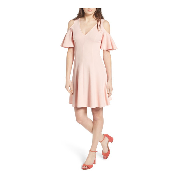 SOPRANO cold shoulder dress - Just when you thought the cold-shoulder trend couldn't get...