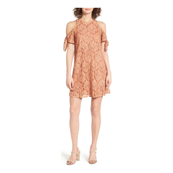 SOPRANO cold shoulder lace dress - Show off your shoulders in the prettiest way possible with...