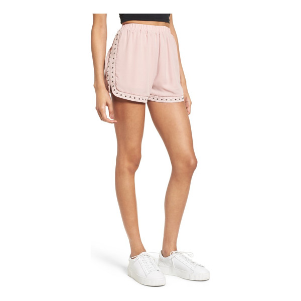 SOPRANO studded & embroidered shorts - For the sporty girl who still likes a bit of glitz, these...