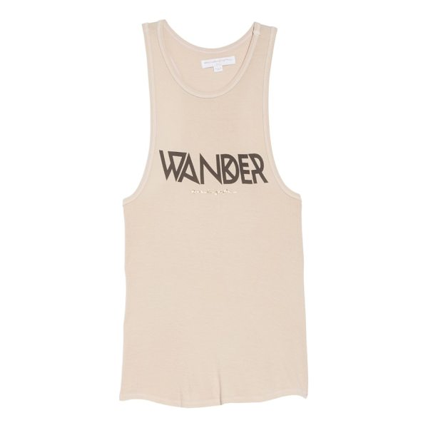 SPIRITUAL GANGSTER wander tribe tank - Keep that wanderlust alive in this affirming graphic tank,...