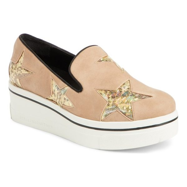STELLA MCCARTNEY binx star loafer - Stella McCartney's trademark star motif appears on this...