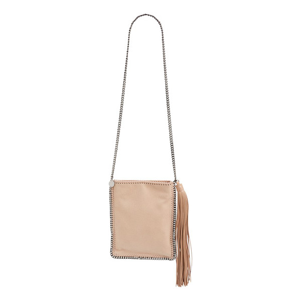 STELLA MCCARTNEY Falabella faux leather shoulder bag - An oversized tassel detail adds an unmistakable touch of...