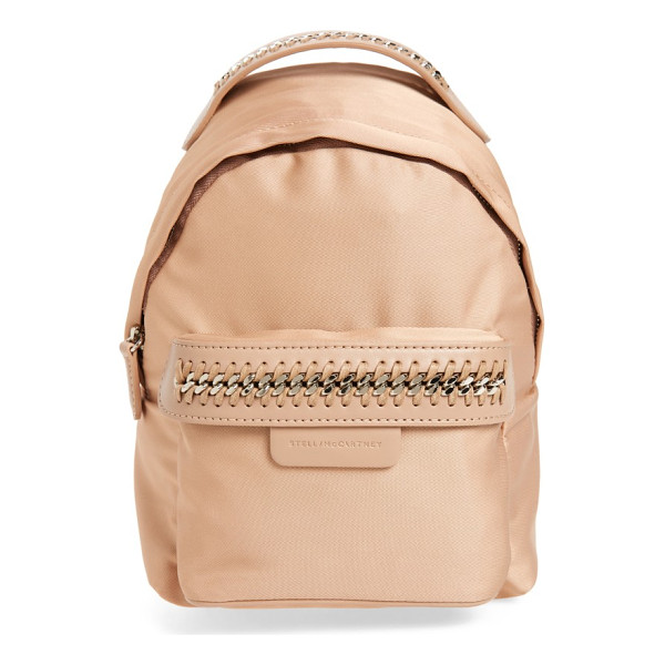 STELLA MCCARTNEY mini falabella go backpack - Everything you love about Stella McCartney bags-the...