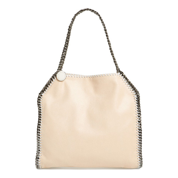 STELLA MCCARTNEY 'small falabella - Gunmetal chains trace the clean lines of a chic tote