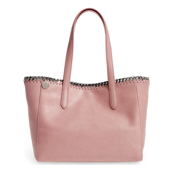 STELLA MCCARTNEY small falabella shaggy deer faux leather tote - A compact version of the Falabella tote is just as big on...
