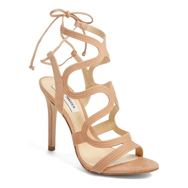 STEVE MADDEN 'ava' sandal - Curvaceous straps add a breezy, feminine element to a lofty...