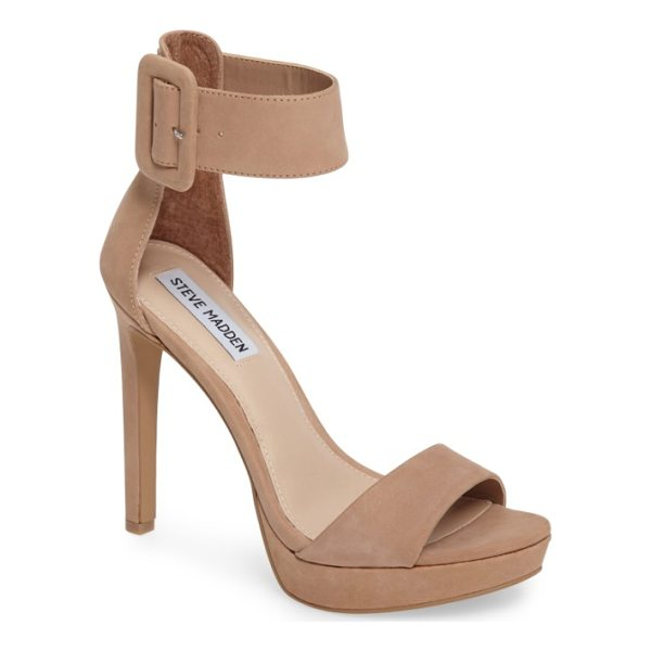 STEVE MADDEN circuit sandal - A wide ankle cuff adds bold, sophisticated style to a...