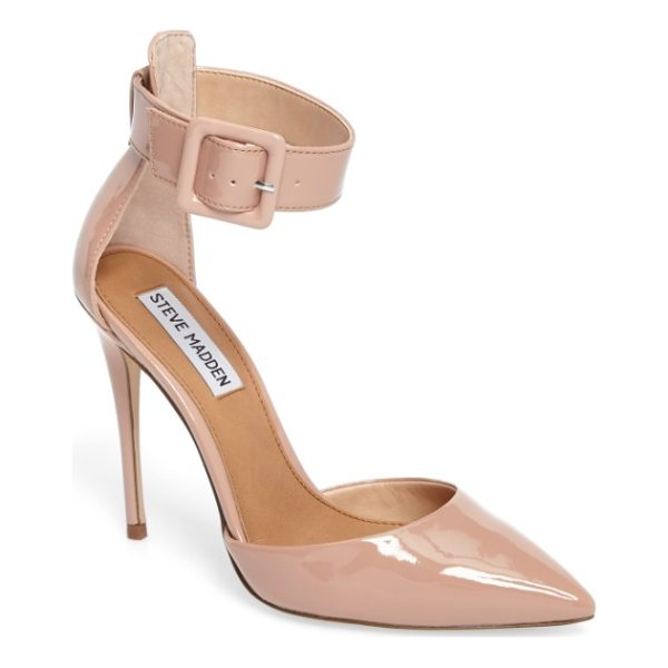 STEVE MADDEN desire ankle strap pump - The kind of pointy-toe pump that will take you from...