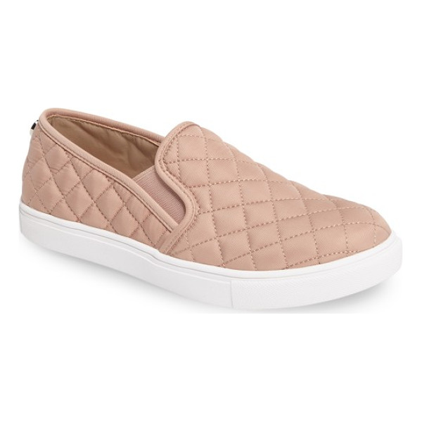 STEVE MADDEN 'ecntrcqt' sneaker - A sleek, quilted finish amplifies the skater-chic style of...