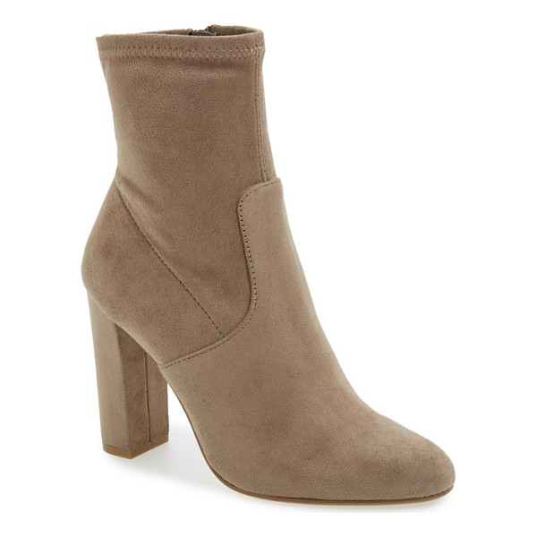 STEVE MADDEN edit bootie - A subtly slouchy shaft and a streamlined design combine to