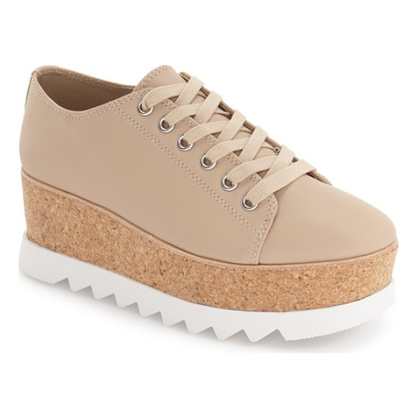 STEVE MADDEN 'korrie' platform sneaker - This classic sneaker takes on a dramatically new profile...