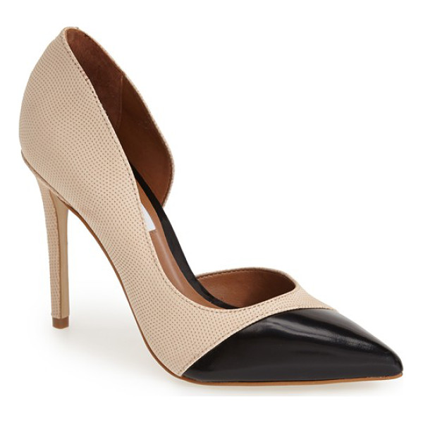 STEVE MADDEN paigely half dorsay pump - A sophisticated pointy toe pump in a half d'Orsay...