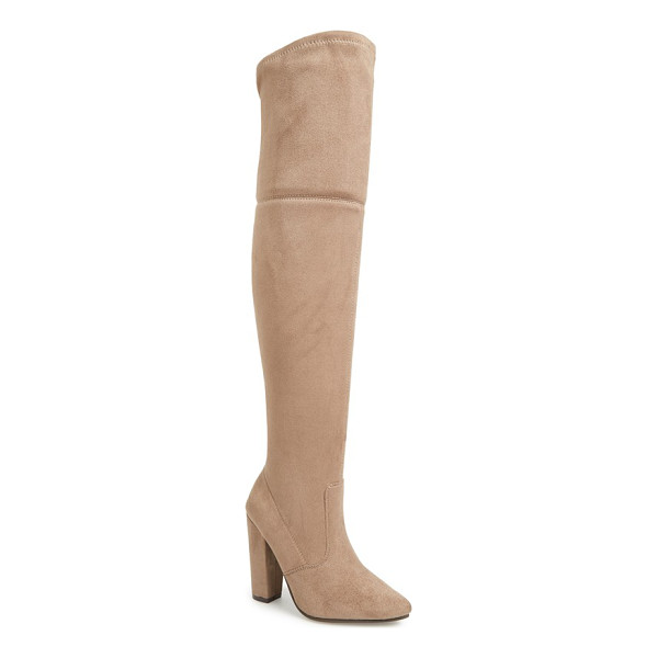 STEVE MADDEN rocking over the knee boot - Instantly embolden your look with a dramatic over-the-knee...
