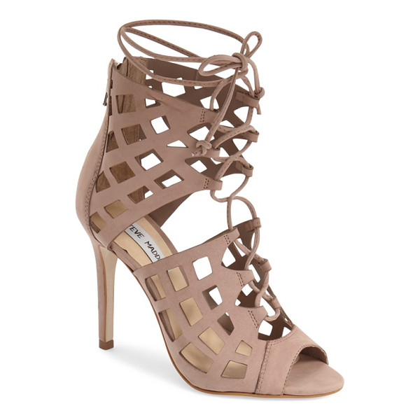 STEVE MADDEN sedduce cage sandal - Airy diamond cutouts create the alluring cage silhouette of...