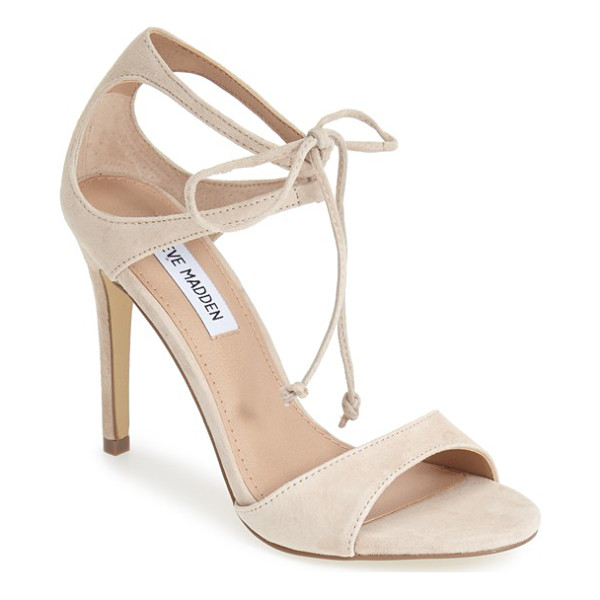 STEVE MADDEN semona suede ankle strap sandal - Meet your new go-to sandals: With their clean lines,...
