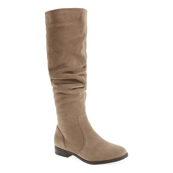 STEVE MADDEN steve maddon beacon slouchy knee-high boot - A perfectly slouchy shaft furthers the soft, relaxed feel...