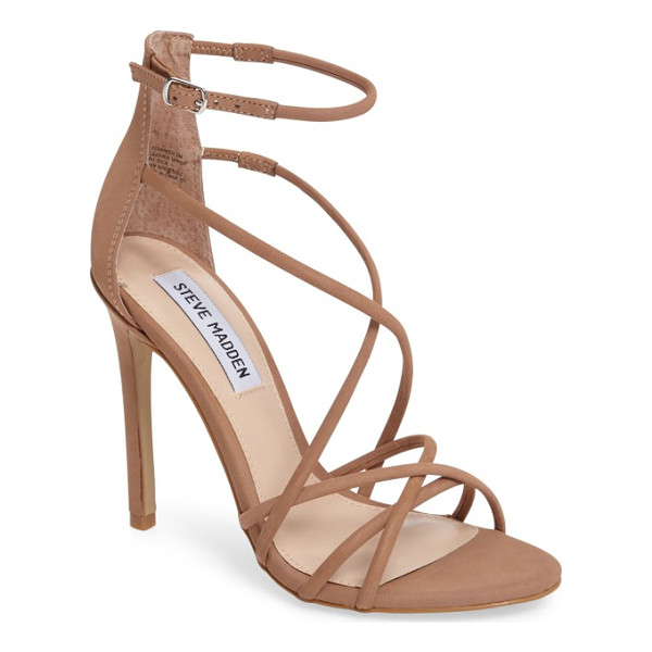 STEVE MADDEN strappy sandal - Perfect for a glamorous evening event or night on the town,...