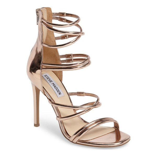 STEVE MADDEN tito sandal - Perfect for an evening out, a strappy sandal with a lofty...