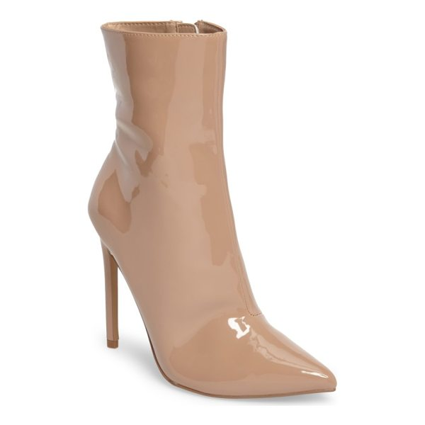 STEVE MADDEN wagner boot - A perfectly pointed toe enhances the swanky style of a...