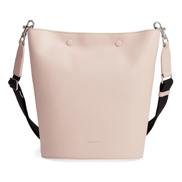 STEVEN ALAN rhys leather bucket bag - A low-key carryall made from supple calfskin is the...