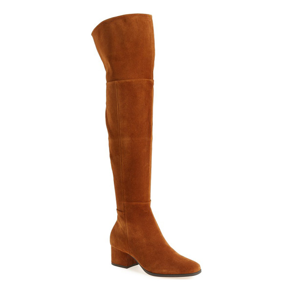 STEVEN BY STEVE MADDEN phaser over the knee boot - Punctuate your look with the eye-catching modern drama of...