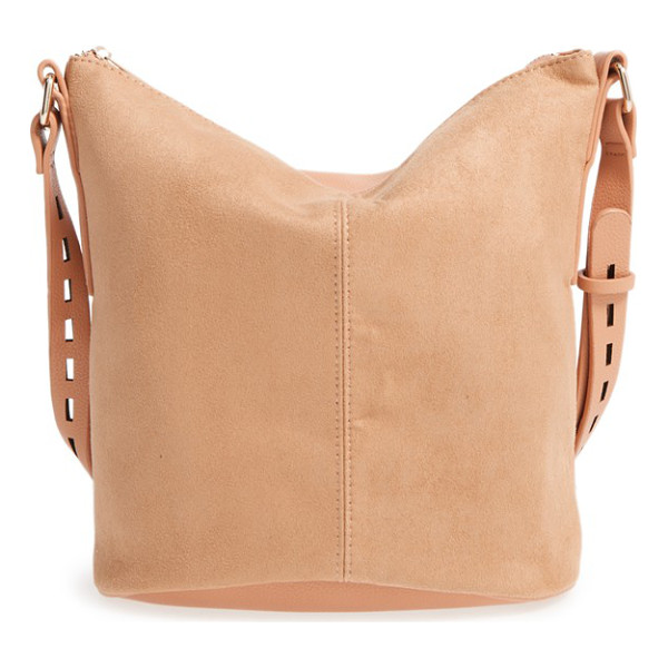 STREET LEVEL faux leather bucket bag - Add a bit of modern sophistication to your everyday style...