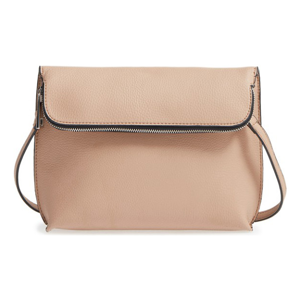 STREET LEVEL Faux leather crossbody bag - Minimalist, sturdy and perfectly sized, this faux-leather...