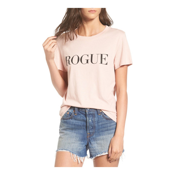 SUB URBAN RIOT rogue graphic tee - Make like a certain bob-haired editrix and go rogue,...