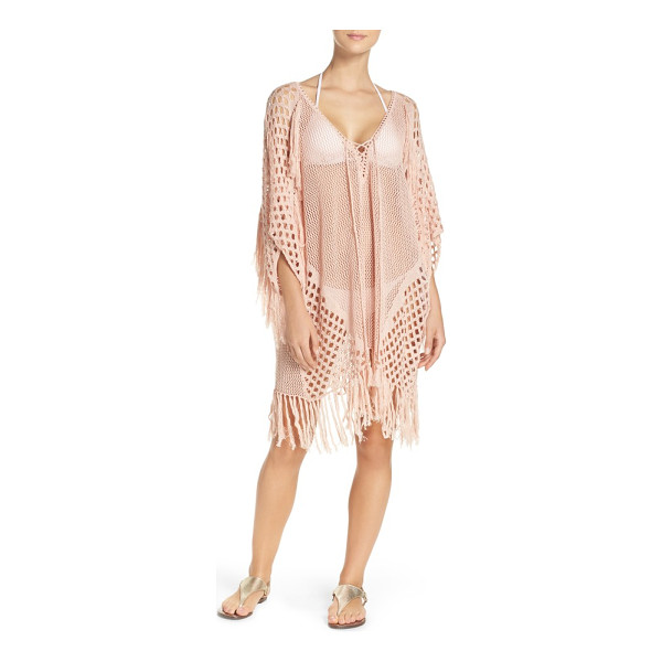 SUBOO new romantics cover-up caftan - Bring the boho beachside and beyond.