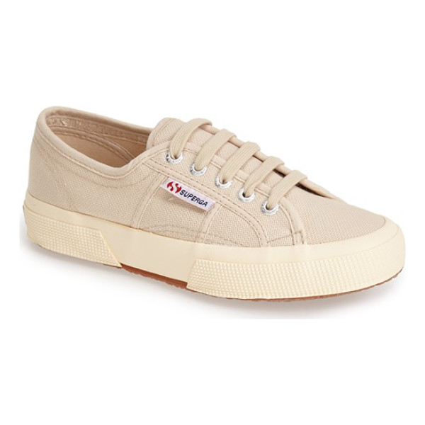 SUPERGA cotu sneaker - Casual kicks in an array of terrific colors. The textured...